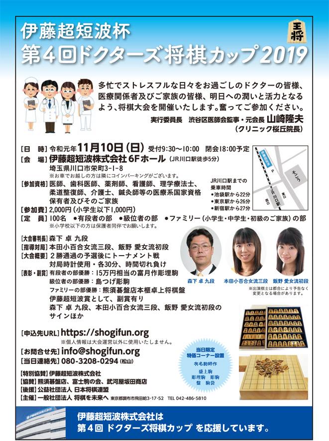 ドクターズ将棋カップ2019